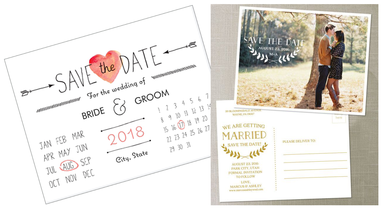 Untitled 2 - Save the Date Cards vs Invitations