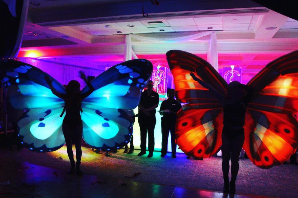 Emily Season LED Buterflies - Magical Memories Entertainment