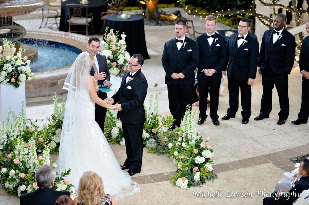 Gaby John Ceremony - Rachael Nicole Events