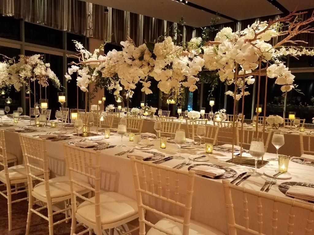 Long table High Centerpieces - Details