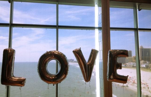 Love balloons - Details