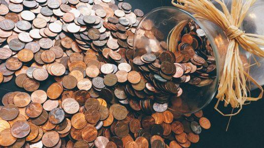 coins 912718 960 720 1 536x302 - Making & Keeping a Wedding Budget